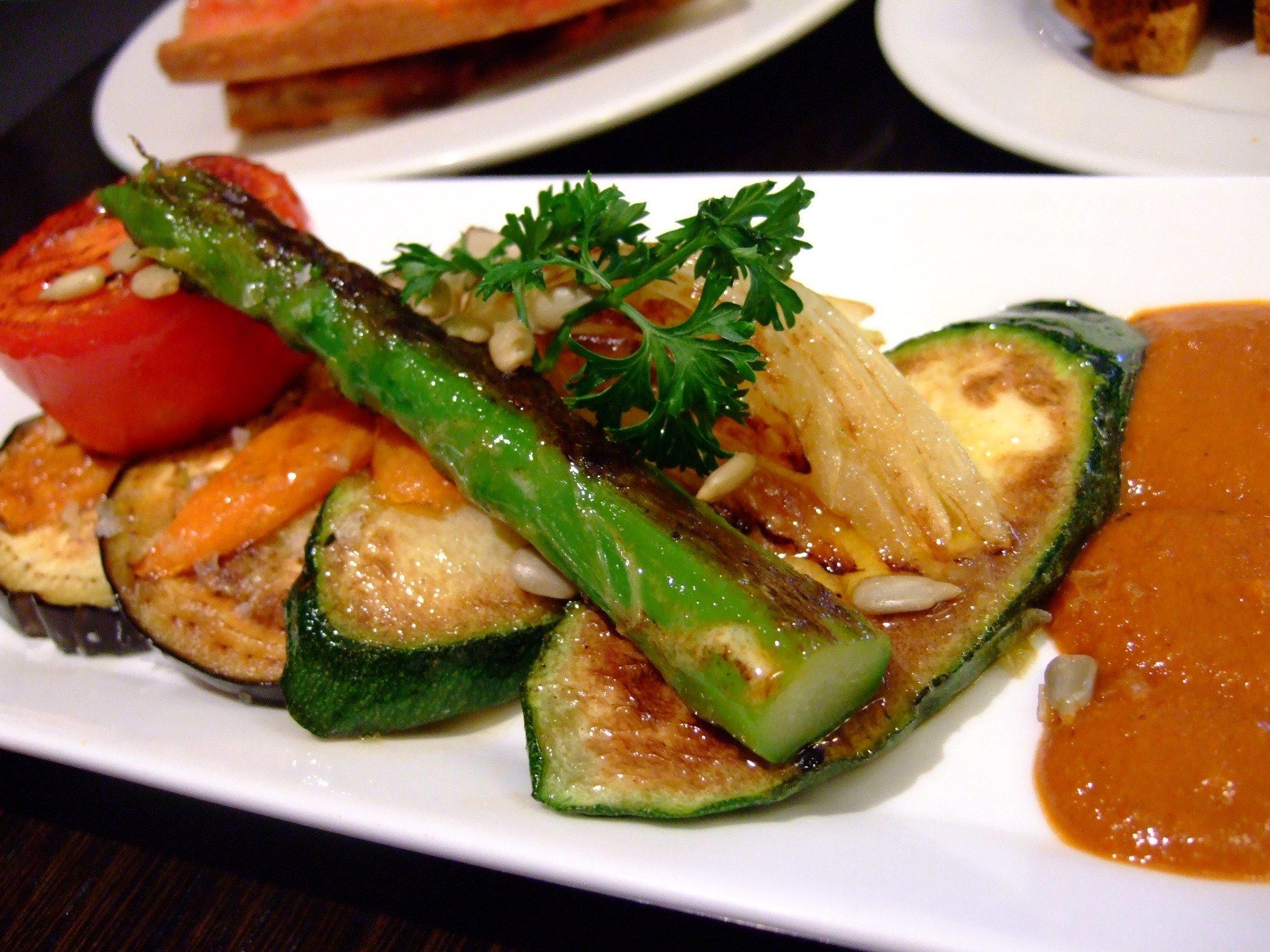 Spanish Grilled Vegetables