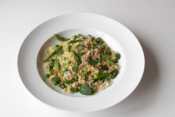 Quinoa and Spring Vegetable Salad