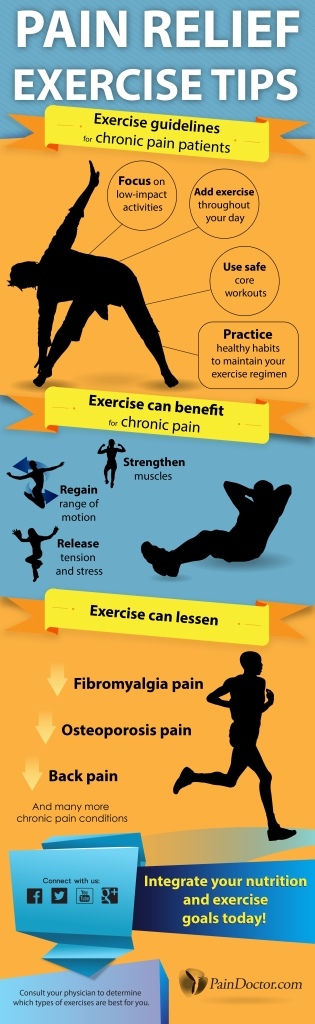 Pain Relief Exercise Tips