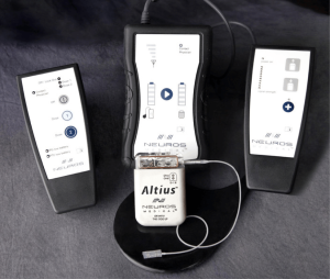 Neuros AltiusTM High Frequency Alternating Current (HFAC) Stimulator