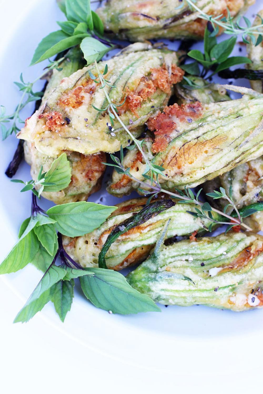 Recipe: Ricotta Stuffed Squash Blossoms | PainDoctor.com