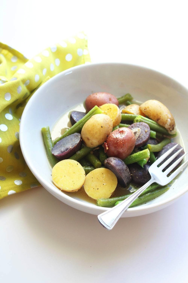 Recipe: Green Beans And Potatoes In Broth | PainDoctor.com
