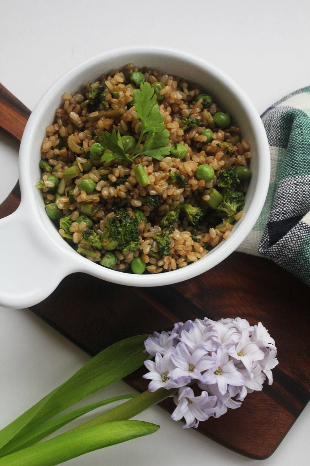 Recipe: Homemade Take On Green Fried Rice Takeout   PainDoctor.com