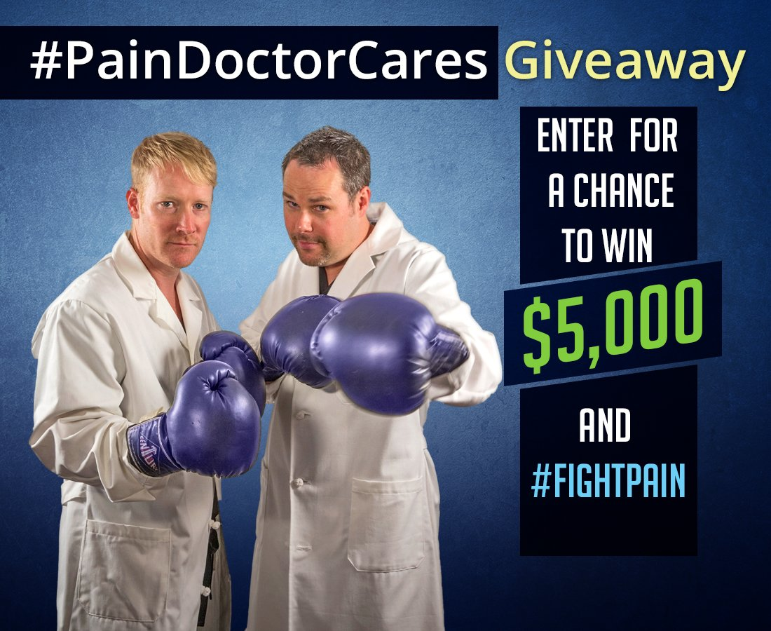 The #PainDoctorCares $5,000 Giveaway FAQ | PainDoctor.com