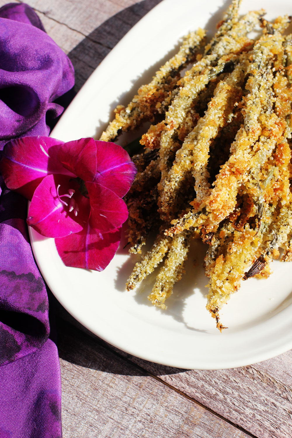 Recipe: Baked Ginger and Sesame Crusted Green Beans | PainDoctor.com