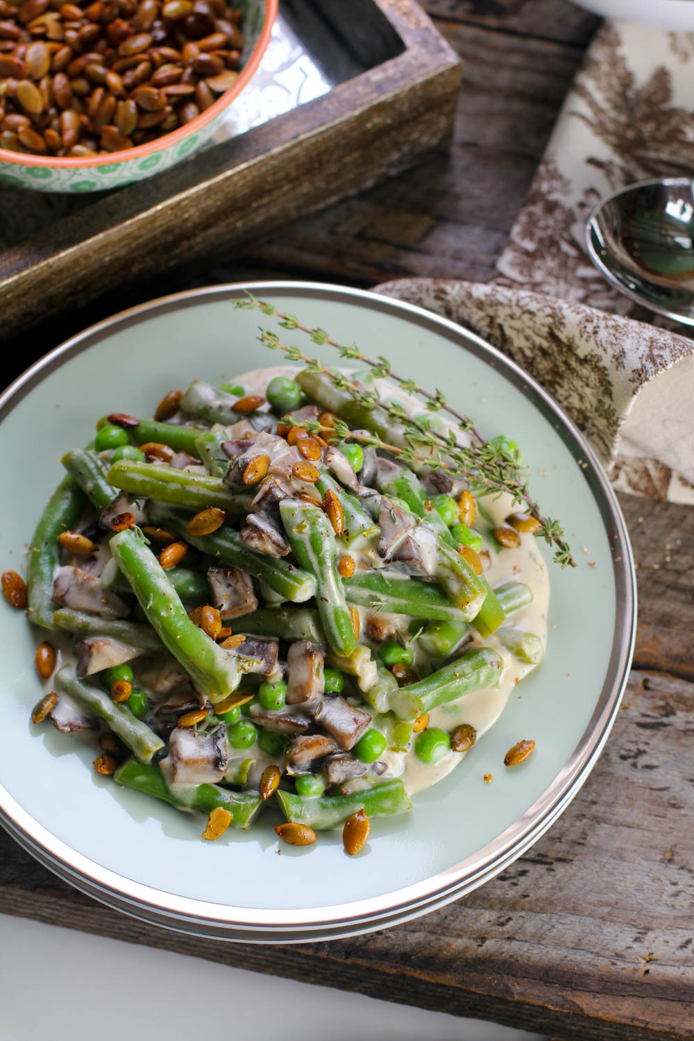 Thanksgiving Recipe: Green Beans With Homemade Cream of Mushroom Sauce | PainDoctor.com
