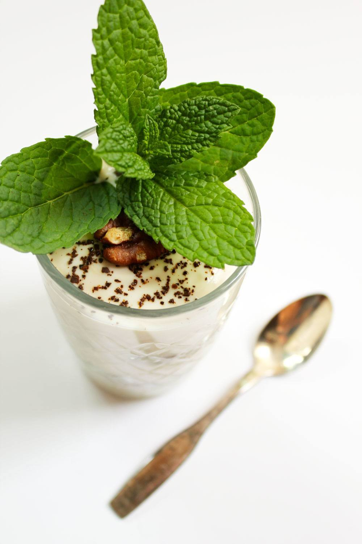 Recipe: Coffee And Mint Yogurt Parfait | PainDoctor.com