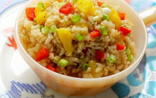 Recipe: Gingered Pineapple Brown Rice | PainDoctor.com