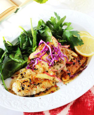 White Fish Recipe With Parsley And Lemon | PainDoctor.com