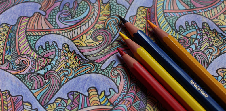 View larger image how adult coloring books can help pain patients paindoctor com