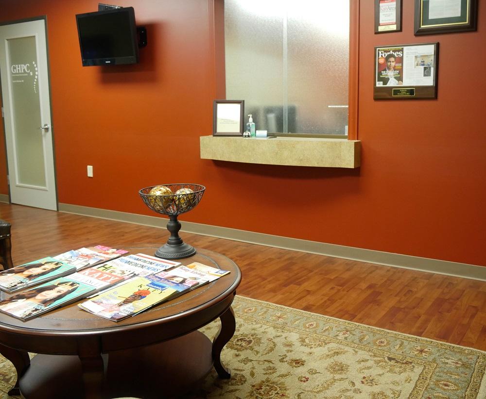 Katy Pain Clinic Front Desk