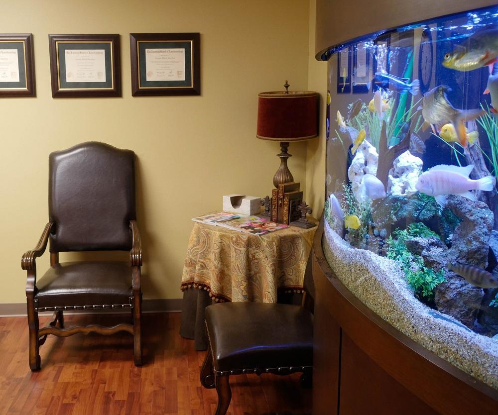 Katy Pain Clinic Lobby
