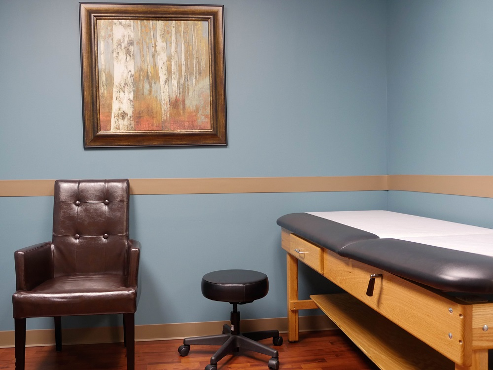 Katy Pain Clinic Room