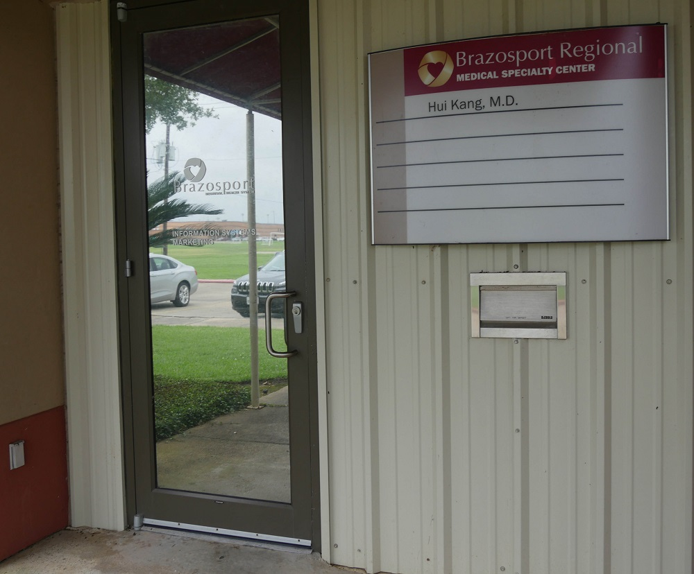 Lake Jackson Pain Clinic Door