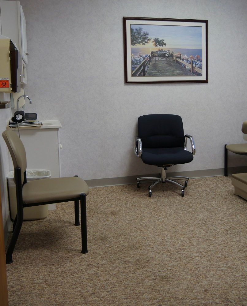 Lake Jackson Pain Clinic Lobby