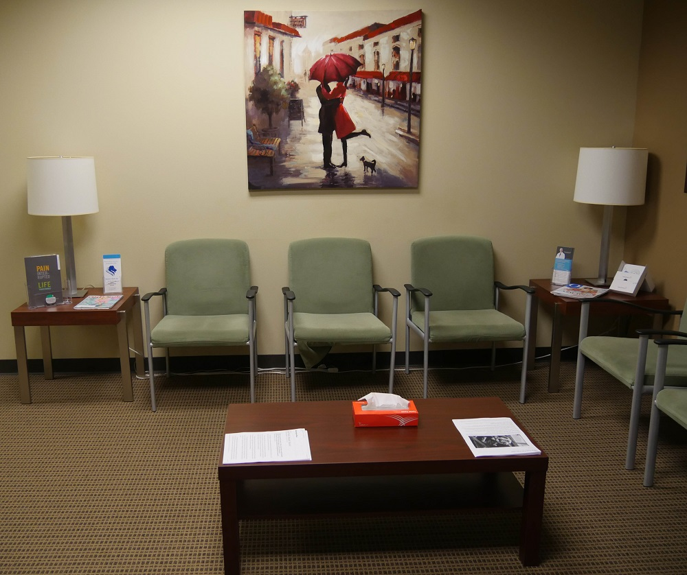 Sugar Land Pain Clinic Lobby