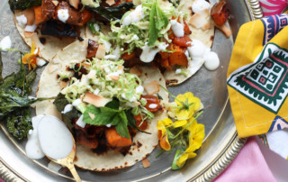 Sweet Potato and Crispy Kale Tostadas Recipe | PainDoctor.com