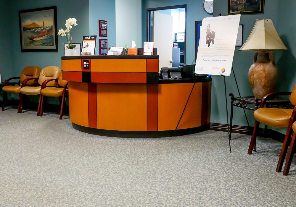 Bellaire Pain Clinic Front Desk