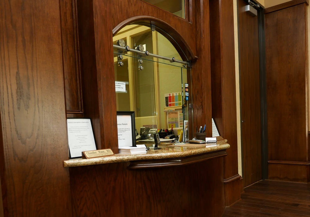 Kingwood Pain Clinic Front Desk