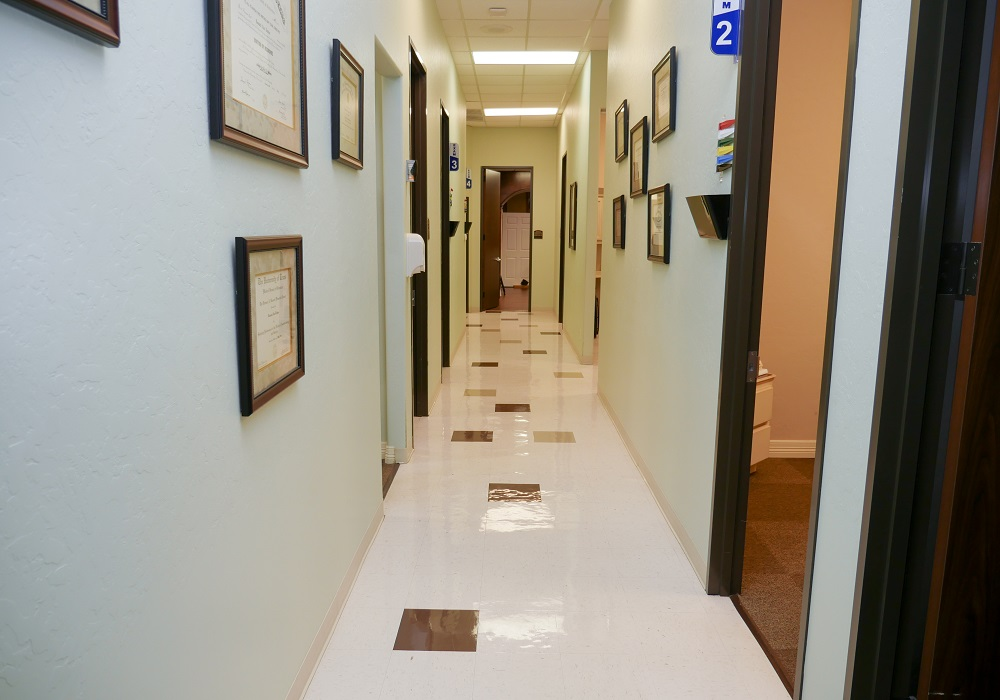 Kingwood Pain Clinic Hallway