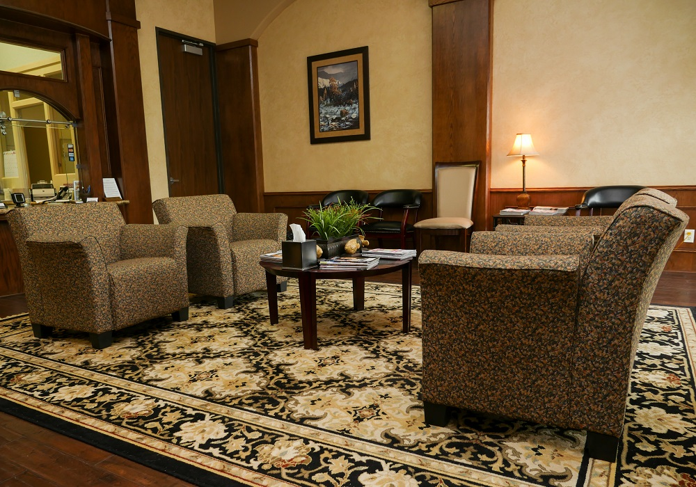 Kingwood Pain Clinic Lobby