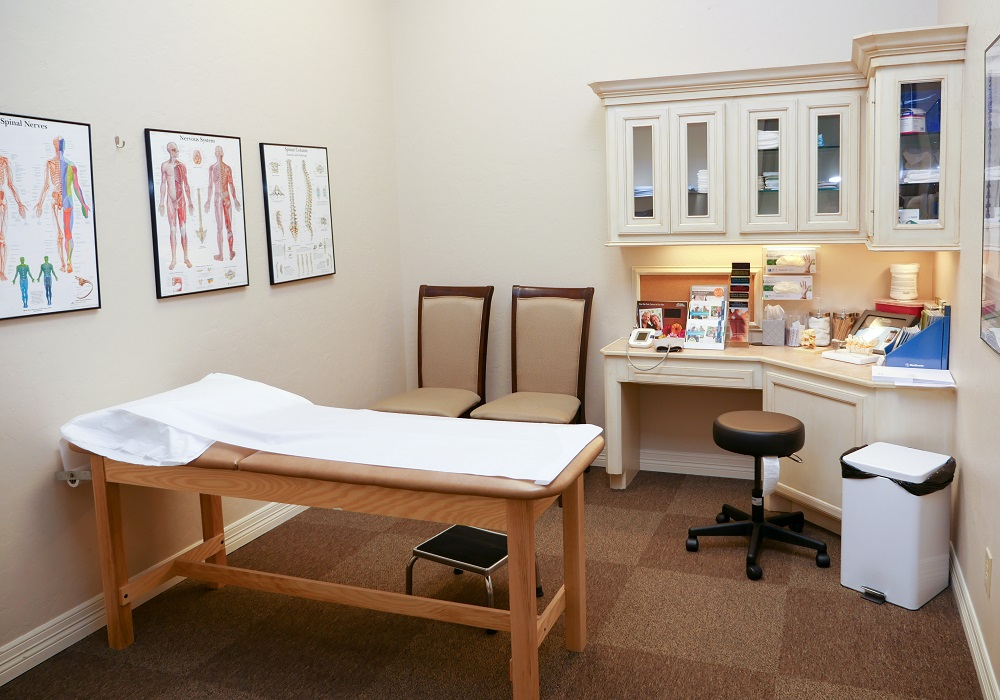 Kingwood Pain Clinic Room