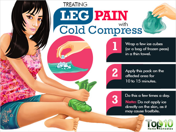 how to get rid of leg pain naturally