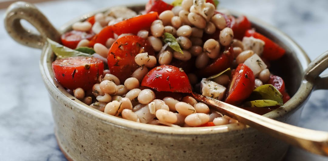 White Bean And Tomato Salad Recipe | PainDoctor.com