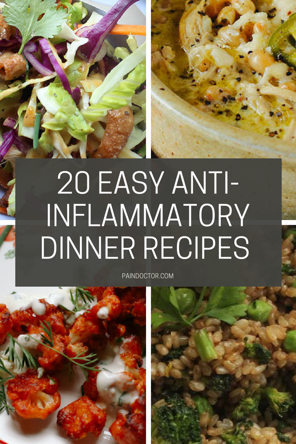 20 Easy Anti Inflammatory Dinner Recipes That Will Make You Feel Great