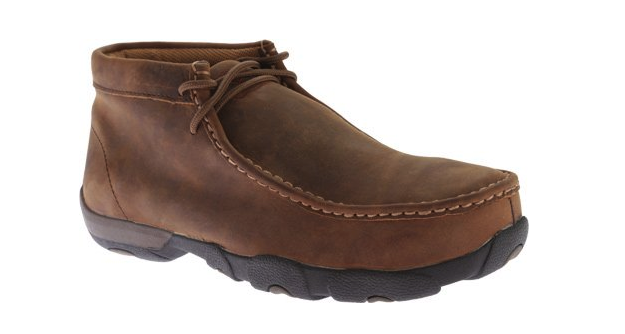 Twisted X Boots Mens Peanut Steel Toe Met Guard Driving Mocs